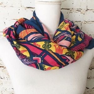 WARRIERS IN PINK SCARF